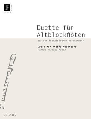 - Duette für Alt-blockflöten - französischen Barockmusik - Partition - di-arezzo.fr
