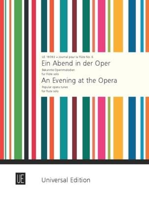 Ein Abend in der Oper – Flöte solo - Joseph Küffner - laflutedepan.com