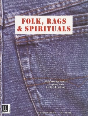 Folk, Rags & Spirituals - Partition - Guitare - laflutedepan.com