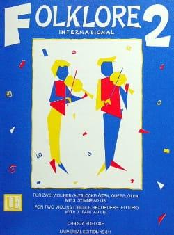 Christa Roelcke - Folklore international Volume 2 - Partition - di-arezzo.fr