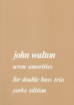 J. Walton - 7 Sonorities - Partition - di-arezzo.fr