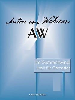 Im Sommerwind - Anton Webern - Partition - laflutedepan.com