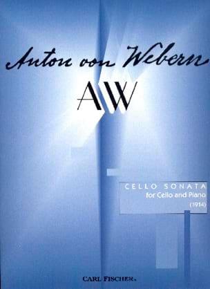 Anton Webern - Sonate (1914) - Partition - di-arezzo.fr