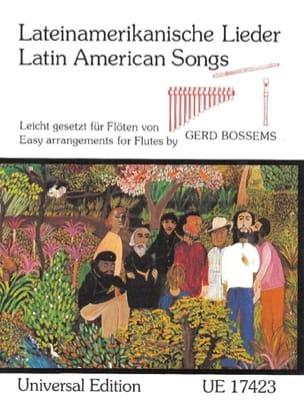 Lateinamerikanische Lieder Partition laflutedepan
