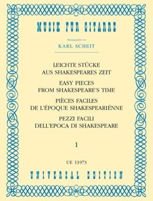 - Leichte Stücke aus Shakespeares Zeit - Bd. 1 - Sheet Music - di-arezzo.com