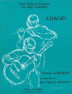 Tomaso Albinoni - Adagio - Flute et Guitare ou 2 Guitares (Arr. ) - Partition - di-arezzo.fr