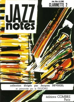 Jean-Marc Allerme - Jazz Notes - Clarinet 2 - Partition - di-arezzo.com