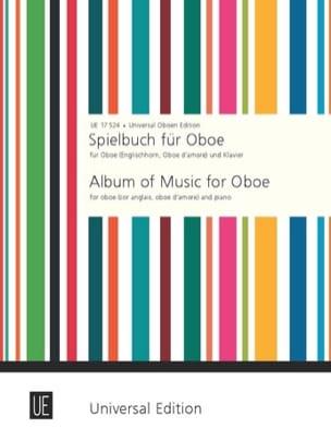Spielbuch für Oboe Englischhorn, Oboe d'amore und Klavier laflutedepan