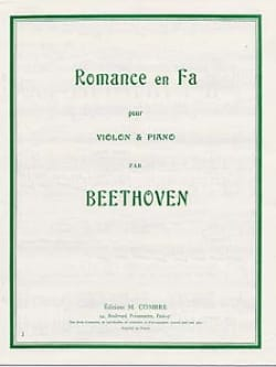 BEETHOVEN - Romance in Fa - Sheet Music - di-arezzo.co.uk