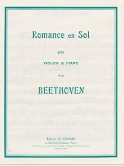 BEETHOVEN - Romance en Sol - Partition - di-arezzo.fr