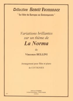 Vincenzo Bellini - Brilliant Variations on the Norma - Flute and Piano - Sheet Music - di-arezzo.co.uk