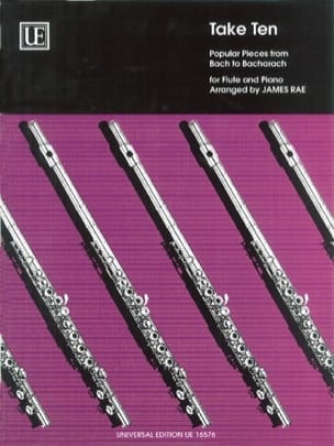 James Rae - Take Ten - Flute piano - Partition - di-arezzo.fr
