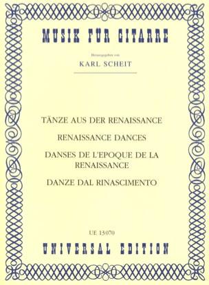 Tänze aus der Renaissance - Partition - Guitare - laflutedepan.com