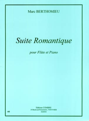 Marc Berthomieu - Suite romantica - Partitura - di-arezzo.it