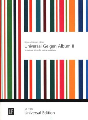 Universal Geigen Album 2 Peter Kolman Partition Violon - laflutedepan