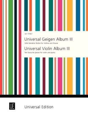 Peter Kolman - Universal Geigen Album 3 - Partition - di-arezzo.fr