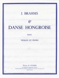 Danse hongroise n° 6 BRAHMS Partition Violon - laflutedepan