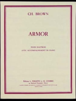 Charles Brown - Armor - Partition - di-arezzo.fr
