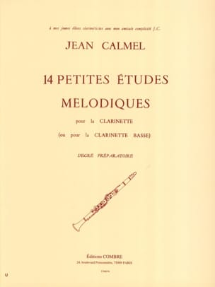 Jean Calmel - 14 Small melodic studies - Sheet Music - di-arezzo.co.uk