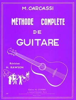 Matteo Carcassi - Methode Complete De Guitare - Partition - di-arezzo.fr