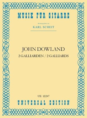 2 Galliarden - DOWLAND - Partition - Guitare - laflutedepan.com