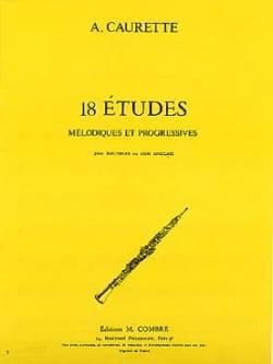 André Caurette - 18 Studies - Sheet Music - di-arezzo.com