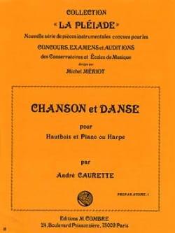 André Caurette - Chanson et Danse - Partition - di-arezzo.fr