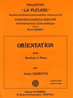 Orientation André Caurette Partition Hautbois - laflutedepan