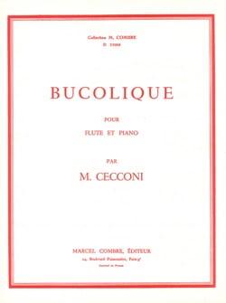 Monic Cecconi - Bucolique - Flute et Piano - Partition - di-arezzo.fr