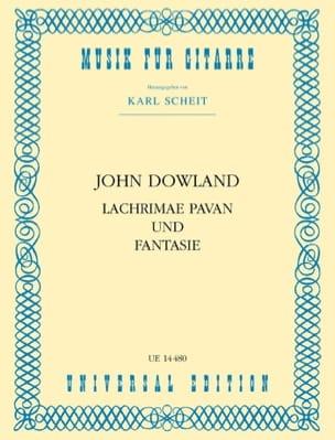 John Dowland - Lachrimae Pavan and Fantasy - Sheet Music - di-arezzo.co.uk