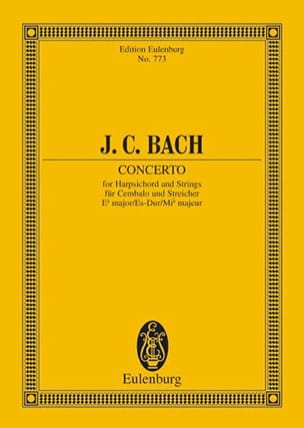 Klavier-Konzert Es-Dur - Johann Christian Bach - laflutedepan.com