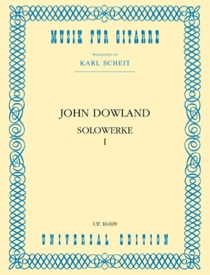 John Dowland - Solowerke Band I - Partition - di-arezzo.fr