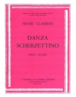 Henri Classens - Danza - Scherzettino - Partition - di-arezzo.fr