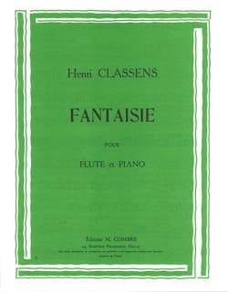 Henri Classens - Fantaisie - Partition - di-arezzo.fr
