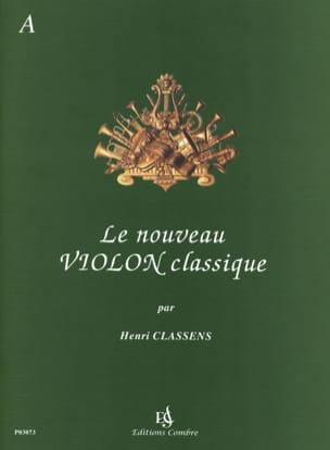 Henri Classens - The New Classical Violin Volume A - Sheet Music - di-arezzo.com