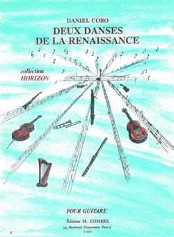 Daniel Cobo - 2 Danses de la Renaissance - Partition - di-arezzo.fr