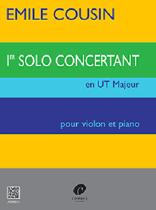 Emile Cousin - Solo concertante n ° 1 en Do mayor - Partitura - di-arezzo.es
