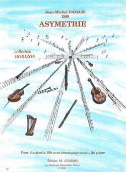 Jean-Michel Damase - Asymetrie - Partition - di-arezzo.fr