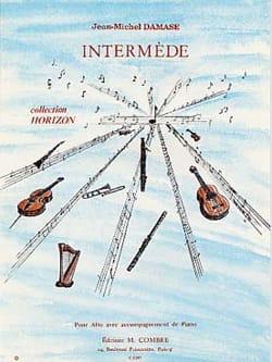 Jean-Michel Damase - Intermède - Partition - di-arezzo.fr