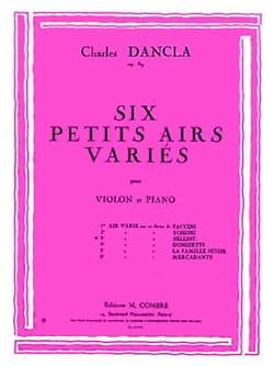 Charles Dancla - Air Varié op. 89 n° 3 sur un thème de Bellini - Partition - di-arezzo.fr