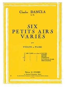 Charles Dancla - Air varié op. 89 n° 4 sur un thème de Donizetti - Partition - di-arezzo.fr