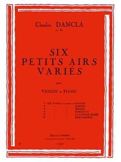 Charles Dancla - Air varié op. 89 n° 6 sur un thème de Mercadante - Partition - di-arezzo.fr