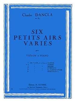 Air Varié op. 89 n° 2 sur un thème de Rossini - laflutedepan.com