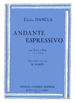 DANCLA - Andante Espressivo - Violin - Sheet Music - di-arezzo.co.uk