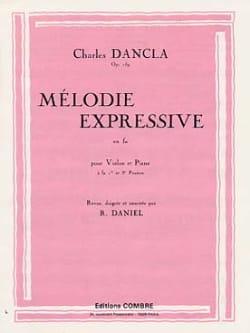 Charles Dancla - Mélodie expressive en Fa op. 159 - Partition - di-arezzo.fr