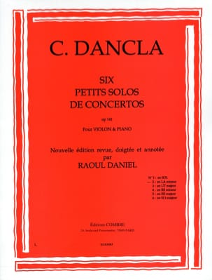 DANCLA - Small concerto solo op. 141 n ° 2 in A minor - Sheet Music - di-arezzo.co.uk