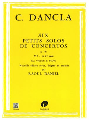 DANCLA - Small concerto solo op. 141 n ° 3 in C Major - Sheet Music - di-arezzo.com