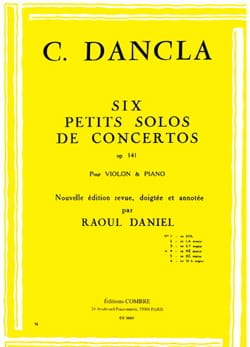 DANCLA - Small concerto solo op. 141 No. 4 in D minor - Sheet Music - di-arezzo.co.uk