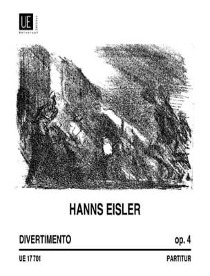 Hanns Eisler - Divertimento op. 4 - Bläserquintett - Cond. - Sheet Music - di-arezzo.com