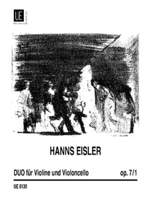 Hanns Eisler - Duo op. 7 n° 1 - Partition - di-arezzo.fr